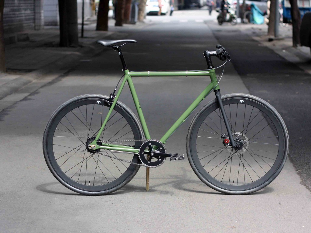 custom bicycle 8 speed