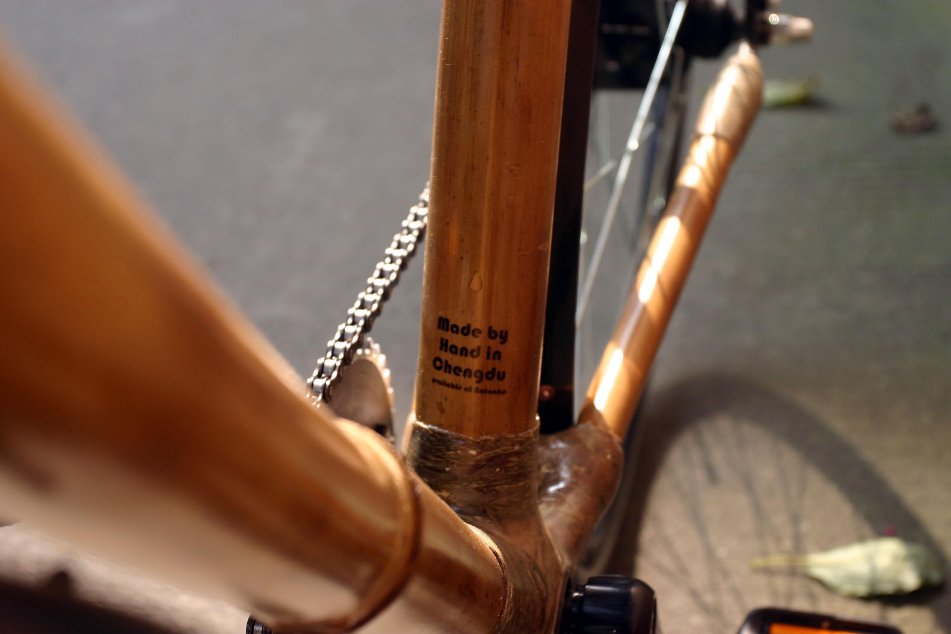 Natooke Chengdu Bamboo Bike Project   NATOOKE   Custom Bicycle Shop