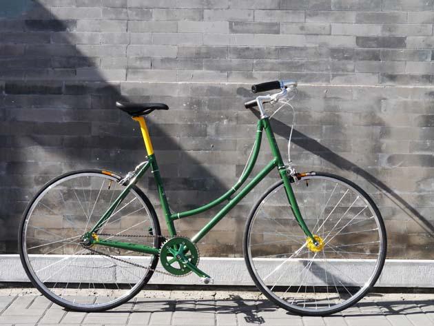 edited bike pic green one