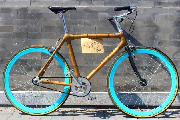 Hand-crafted Bamboo Bike - 10895 RMB