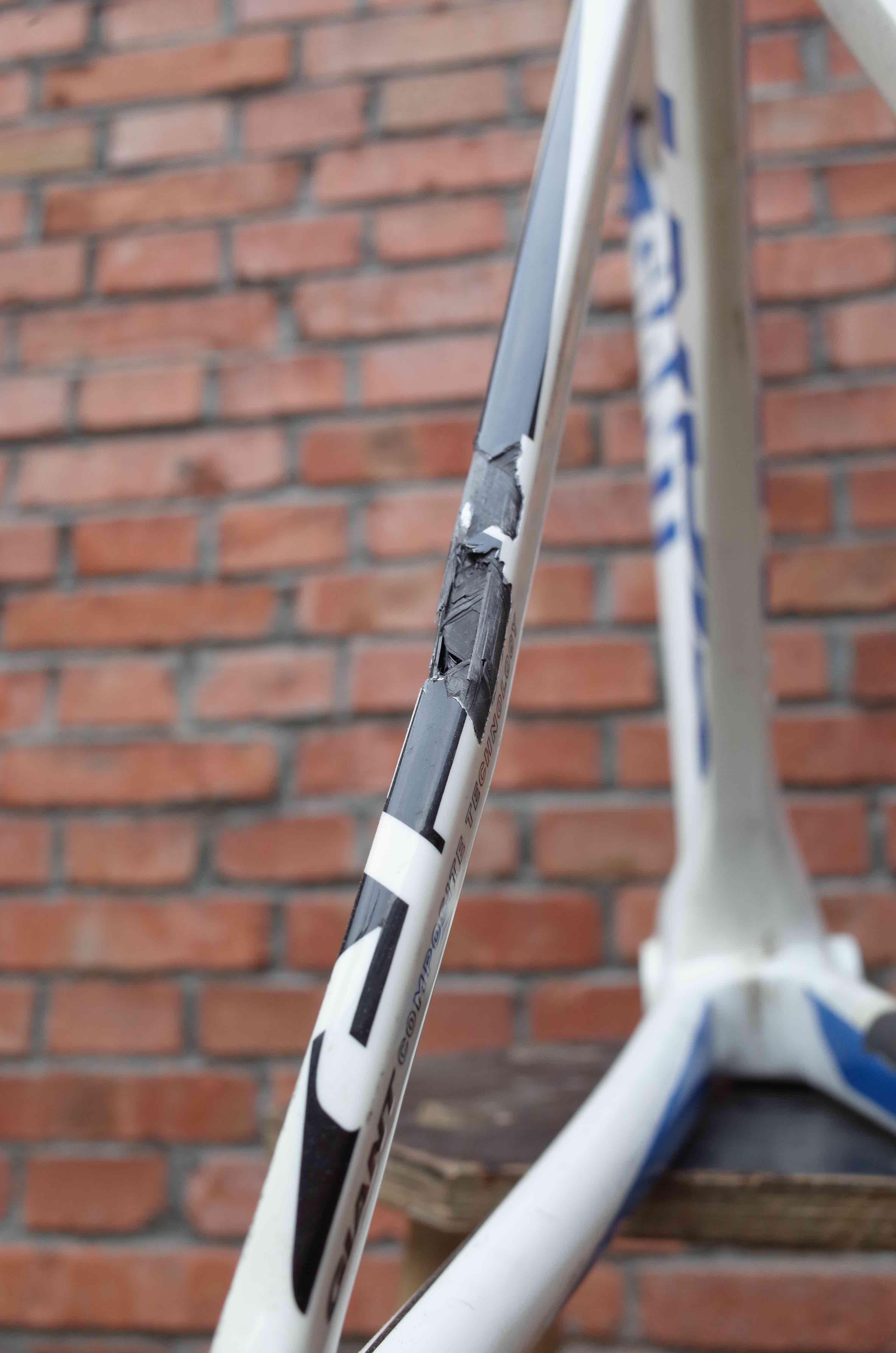 Carbon Fiber Frame Repair and Refinish | NATOOKE | Custom